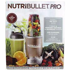 NutriBullet 9 Piece Pro 900 Hi-Speed Blender Mixer Set NB9-0901