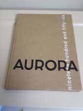 1956 Aurora Eastern Michigan College Year Book Ypsilanti Michigan