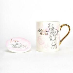 NEW Disney Magical Beginnings Mug & Coaster Set 101 Dalmatians 'Worlds Best Mum'