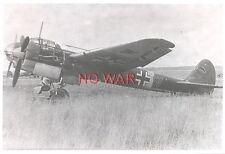 WWII ORIGINAL GERMAN WAR PHOTO LUFTWAFFE AIRPLANES ON AIRDROME
