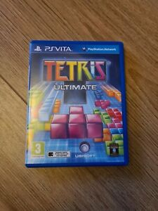 Tetris Ultimate Sony PS Vita game PAL UK