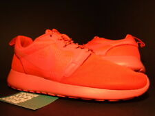 Nike ROSHE RUN ROSHERUN HYPERFUSE LASER CRIMSON SPORT RED PINK 642233-600 10 8.5