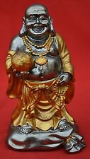 THE LEONARDO COLLECTION:   SMILING BUDDHA /  GOLD ROBES - FAB CONDITION!