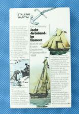 Jacht >> Grönland << im Eismeer | Bericht Polarexpedition 1868 | Buch |