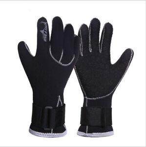 3MM Neopren-Handschuhe Thermo Handschuhe  Kälteschutz Hand S bis XL Warm bleiben