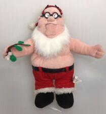 "Family Guy Peter Plush Santa pants beard mistletoe 13"""