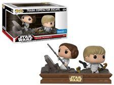 Funko Pop Star Wars 224 Movie Moments Trash Compactor Escape Walmart Leia Luke