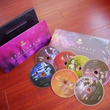 Zumba Fitness Exhilarate Ultimate Experience 7 DVD Box Set w/o Toning Sticks