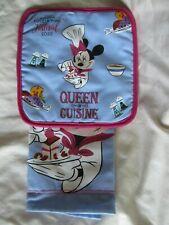 New ListingDisney 2020 Epcot Food Wine Festival Minnie Queen of Cuisine Potholder Towel