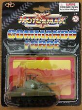 Motormax Commando Force Zylmex M4 Sherman Tank 1/87th Scale Model