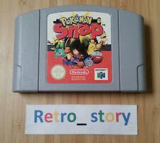 Nintendo 64 N64 Pokémon Snap PAL