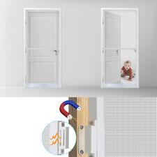 210x100 cm Fliegengitter Insektenschutz Tür Alurahmen Mückengitter Balkontür