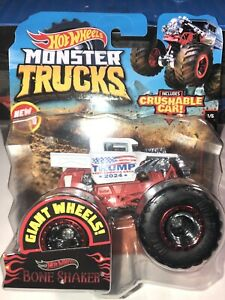 Hot Wheels Monster Jam CUSTOM PRESIDENT BONE SHAKER 2024 MONSTER TRUCK