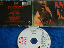 CD Young M.C MC Stone Cold Rhymin 1989 MADE in UK 13 titres