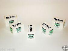 5 x Rolls  ILFORD  DELTA  400  B&W NEG Film--35mm/36 exps size--expiry: 07/2020
