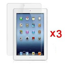 3x New Clear LCD Screen Protector Cover Guard For Apple iPad Mini + Free Cloth