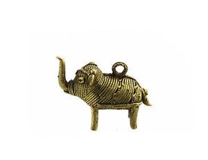 Elefante a Sospensione Bronzo Pendant Orissa MT1