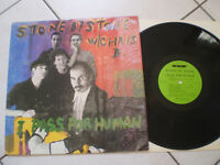 VINILE DISCO LP 33 GIRI STONE BY STONE I PASS FOR HUMAN 1989 BRANI 9 RARISSIMO