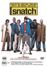 Snatch (2000) Brad Pitt - NEW DVD - Region 4