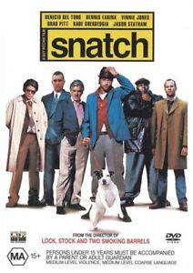 Snatch DVD - SAME / NEXT DAY POSTAGE FROM SYDNEY
