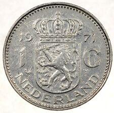 Netherlands 1 Gulden 1971 №5805