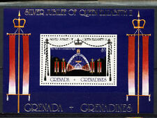 Grenadines Of Grenada 1977 SG#MS168 Silver Jubilee MH M/S #A89203