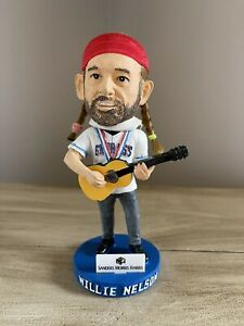 Country Legend WILLIE NELSON Round Rock Express MiLB EXCLUSIVE Bobblehead ~RARE~