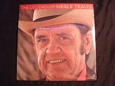 Merle Travis - The Legend of Merle Travis - 1990 Vinyl 12'' Lp.x 2/ New/ Country