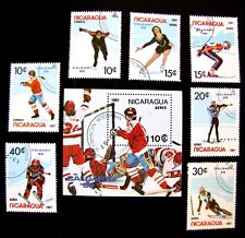 1580-87 1987 AIR MAILS & SS UNUSED MNH CTO OG (SEE NOTE)