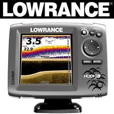 LOWRANCE FISHFINDER MID/HIGH/DOWNSCAN HOOK 5X