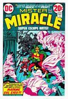 DC Comics Mister Miracle Volume 1 #14 1973 VF-NM 9.0 Kirby Art LI-01