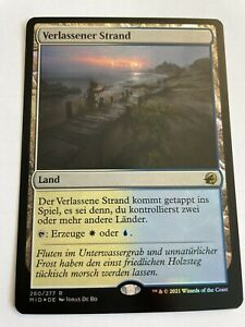 Verlassener Strand - Innistrad Mitternachsjagd - Foil MTG Magic