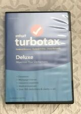 NEW INTUIT TURBOTAX TAX DELUXE 2016 FEDERAL STATE RETURNS E-File WINDOWS PC Mac