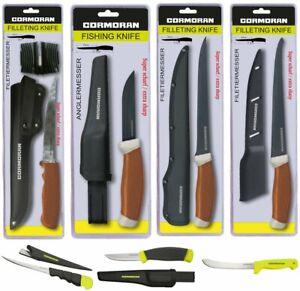 CORMORAN Anglermesser und Filetiermesser - verschiedene Modelle Angelmesser