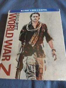 World War Z STEELBOOK Limited Edition (Blu-ray/DVD/Digital, 2018)