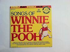 RARE CHILDRENS - SONGS OF WINNIE THE POOH - JACK GILFORD - (ORIGINAL)   VG++