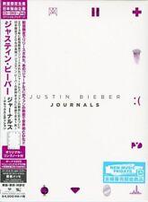 JUSTIN BIEBER-JOURNALS- DELUXE EDITION-JAPAN w/DVD+GOODS, Ltd/Ed K81