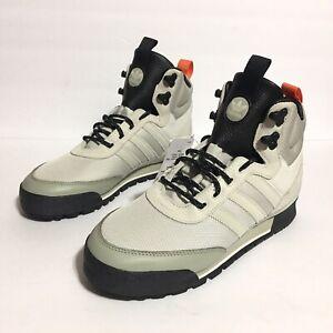 adidas Originals Baara Cream White Black Orange Boot EE5526 Mens Size 8 New Tags