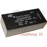 ST M48Z18-100PC1 DIP28 64 Kbit 8Kb x 8 ZEROPOWER SRAM
