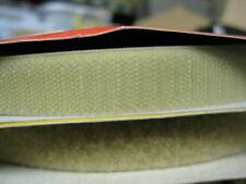 20mm  wide Beige  hook & loop Sew-on tape. Price per 2 Rolls 24m each