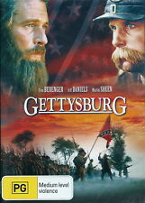 Gettysburg - Action / Civil War / Drama - Tom Berenger, Jeff Daniels -  NEW DVD