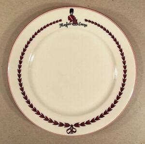 Atlantic City NJ: 1950s? Claridge Hotel MAYFAIR LOUNGE Restaurant Dinner Plate