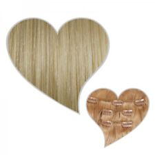 Clip-In Extensions 90 g 40 CM Champagne Blond #22 Real Hair Extension