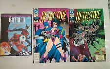 Batman Beyond DVD + Detective Comics issue #653 + 654(DC,1990s)BATMAN BUNDLE