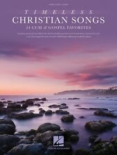 Timeless Christian Songs Sheet Music 24 CCM and Gospel Favorites Piano 000137799