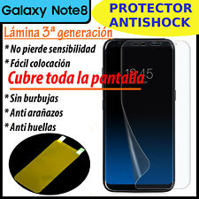 PROTECTOR DE PANTALLA ANTI-SHOCK PARA SAMSUNG GALAXY NOTE 8 LAMINA GEL TPU
