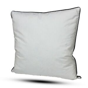 22 x 22 Duck Feather Cushion Pads 22 Inch Filler Insert 100% Feather Pack of 2