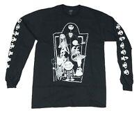 Disney Nightmare Before Christmas Jack Skellington Mens Long Sleeve T Shirt