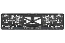 Hyundai i20,i30,i40,ix35,Lantra 2xECHTE 3D-Effekt Kennzeichenhalter