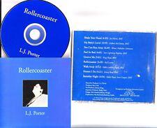 L. J. Porter - Rollercoaster CD (1995 OOP Rare Blues R&B Soul) LJ